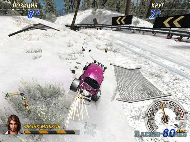 FlatOut 2 - Winter Pursuit (FlatOut 2 Зимняя версия) .